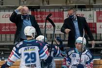 Hokejistům Komety duel na ledě Liberce nevyšel.