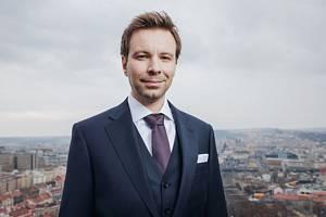 Nový europoslanec za Piráty Marcel Kolaja.
