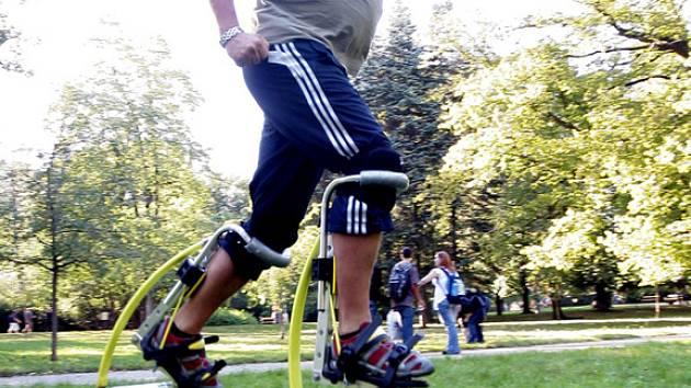 HOPSÁ. Nový adrenalinový sport dobývá i Brno. ... be7c4e90d3