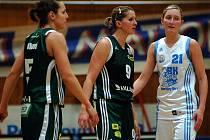 Basketbalistky Valosunu (v zeleném) - ilustrační foto.