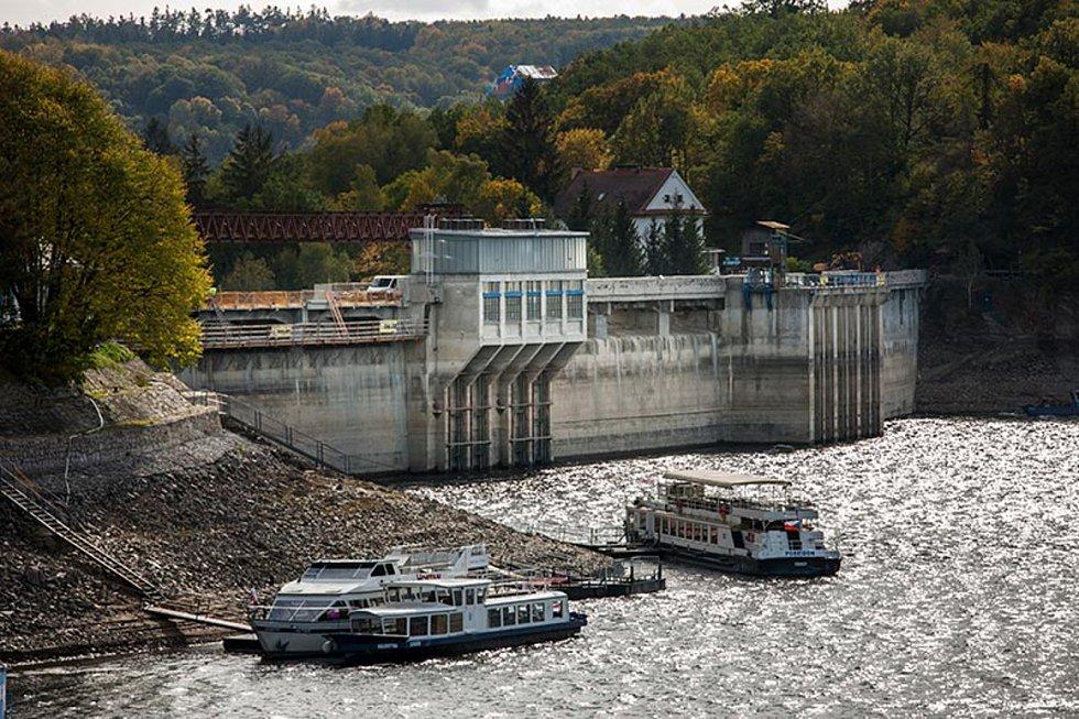 Rekonstrukce koruny hráze vodního díla Vranov, 2. místo v kategorii Vodohospodářské a ekologické stavby.