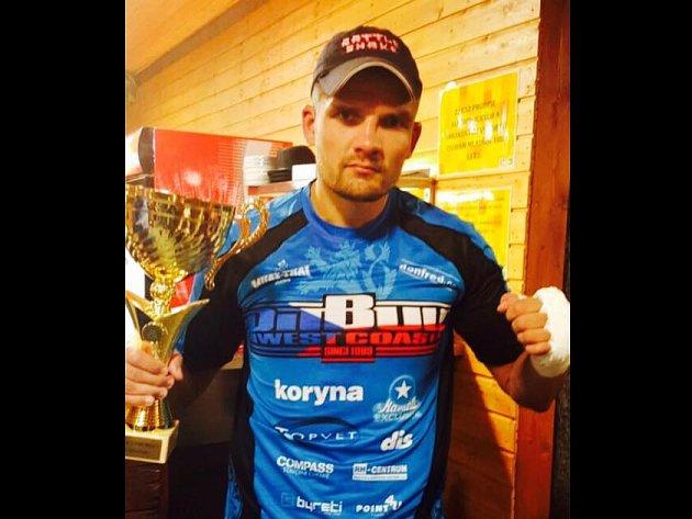 Tomáš Hron po vítězném zápase.