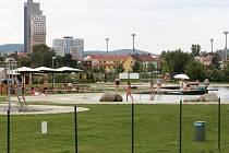 Koupaliště Biotop v městské části Brno-jih. Ilustrační foto.