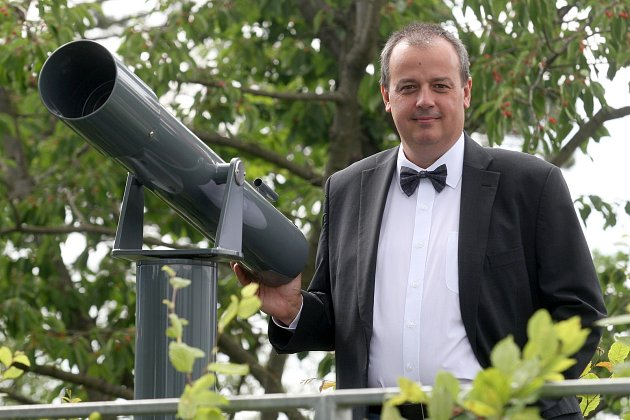 Jiří Dušek, ředitel Hvězdárny a planetária Brno.