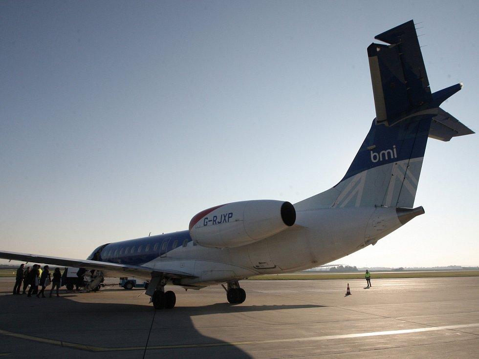 Na brněnském letišti v Tuřanech představili letadlo pro novou linku do Mnichova.