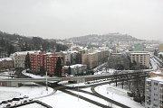 V Brně napadl první letošní sníh