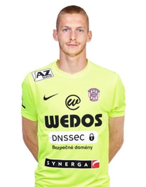 Fotbalový brankář Vojtěch Marek