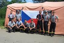 Ondřej Šesták se jako jediný hasič z jihu Moravy účastnil mise v povodněmi zasaženém Srbsku.