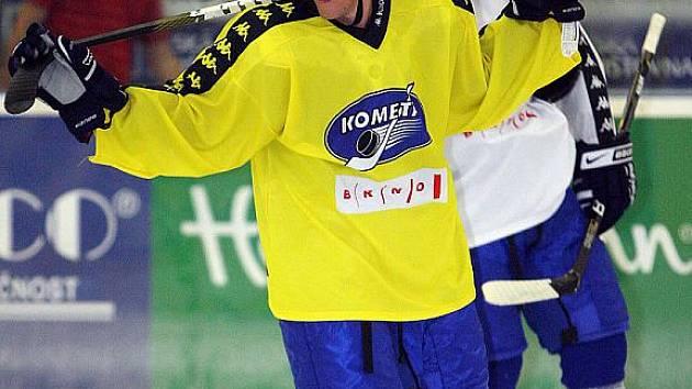 Hokejista Komety Brno Marek Kvapil.