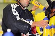 Hokejista brněnské Komety Richard Stehlík.