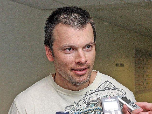 Hokejista Petr Sýkora.