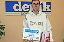 Vítězem podzimní části fotbalové soutěže Brněnského deníku Rovnost se stal Petr Vlach z Brna.