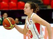 Basketbalistka Gabriela Andělová.
