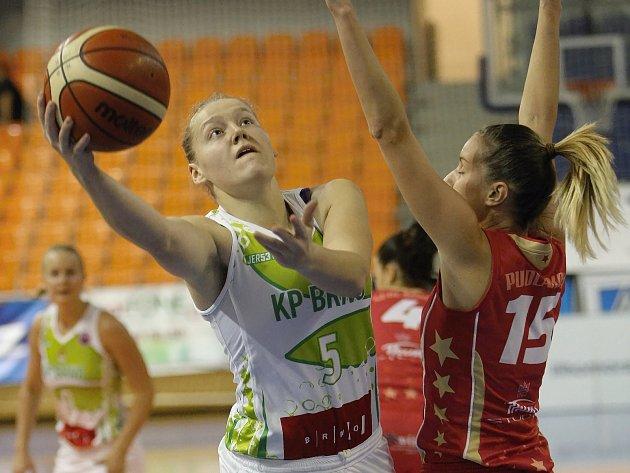 Basketbalistky v Nymburku vyhrály. Doma mohou zpečetit postup do finále