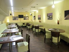 Restaurace Leonessa v Brně.