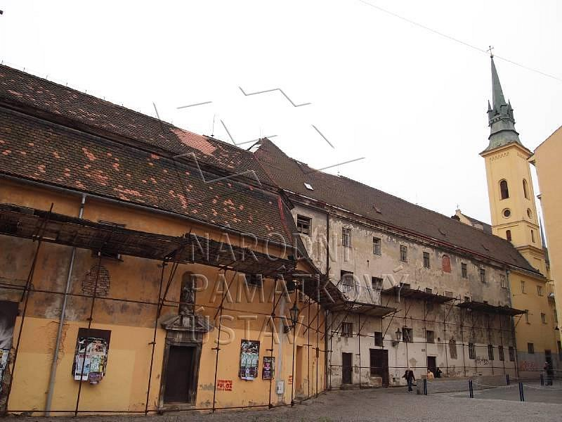 - klášter františkánů s kostelem svaté Máří Magdaleny v Brně