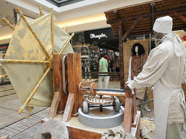 Brňané si mohou ve Vaňkovce vyzkoušet, jak fungují vynálezy Leonarda da Vinciho.