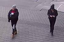 Dvojice na snímku může významně přispět k vyřešení případu loupežného přepadení u brněnského hlavního vlakového nádraží.