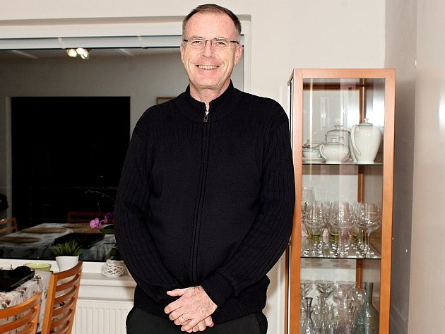 Miloš Paleček, ředitel centra oddělení se zrakovým postižením.