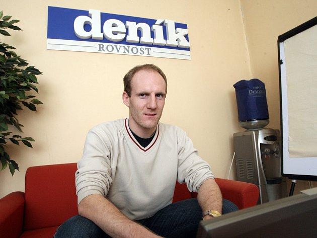 Meteorolog Petr Münster při online rozhovoru.