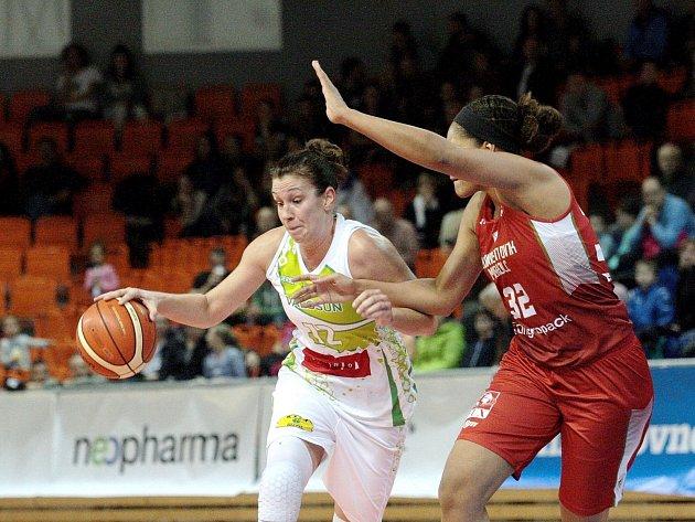 Basketbalistka Edita Šujanová.
