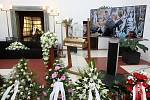 Brno 5.3.2019 - pohřeb Jiřího Pechy na Ústředním hřbitově v Brně