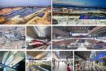 Albert Wimmer (Vídeň): Vídeň hlavní nádraží, Rakousko. Vizualizace.