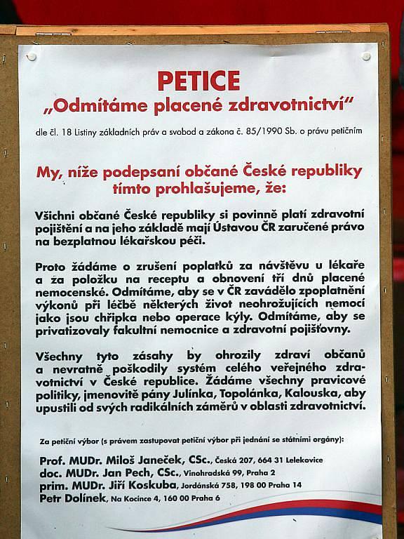 ČSSD slavila s občany Svátek práce.