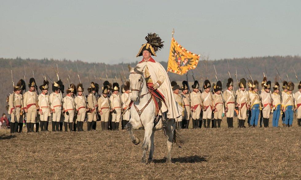 Austerlitz 2016. Ukázku bitvy fotografoval i čtenář Deníku Rovnost Petr Olša.