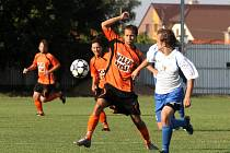V úmorném vedru porazily Tasovice IE Znojmo 2:0.