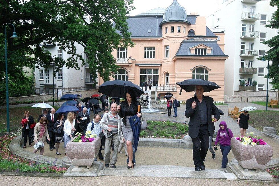 Löw-Beerova vila v Brně po opravě.