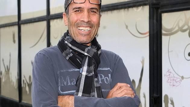 Afghánský podnikatel Mohammad Omar.