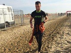 Sportovní redaktor Deníku Rovnost Jaroslav Kára absolvoval v Itálii poprvé dlouhý ironmanský triatlon.