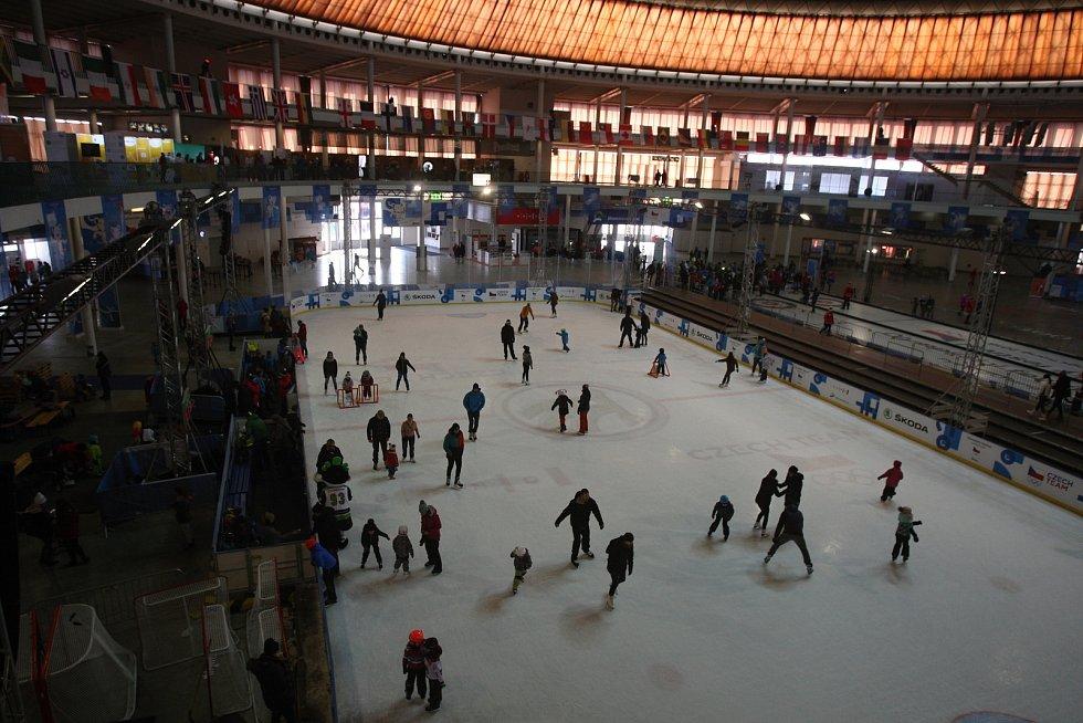 Poslední den na Olympijském festivalu v Brně.