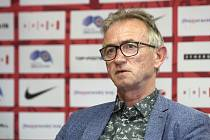 Brněnský trenér Miloslav Machálek na lavičce Zbrojovky v úterý skončil.