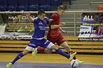 Výhrou nad pražskou Slavií 8:4 prodloužili futsalisté brněnského Helasu vydařené období, v nejvyšší soutěži vyhráli už čtvrtý zápas v řadě.