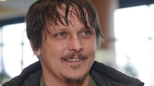 Frontman kapely Chinaski Michal Malátný.