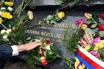 Ostatky Rudolfa Firkušného byly včera uloženy na Ústředním hřbitově v Brně.