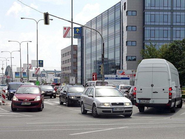 Provoz v ulici Heršpická v Brně.