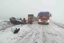 Problémy na silnicích na jižní Moravě, ilustrační foto