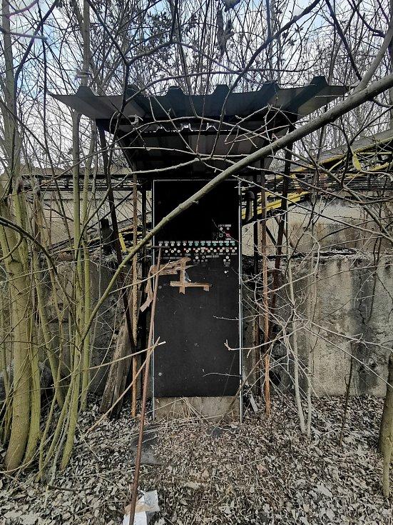 Do prostor bývalé elektrárny v Oslavanech se již nikdo nepodívá. Bude srovnaná se zemí.