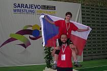 Brněnská zápasnice Adéla Hanzlíčková.