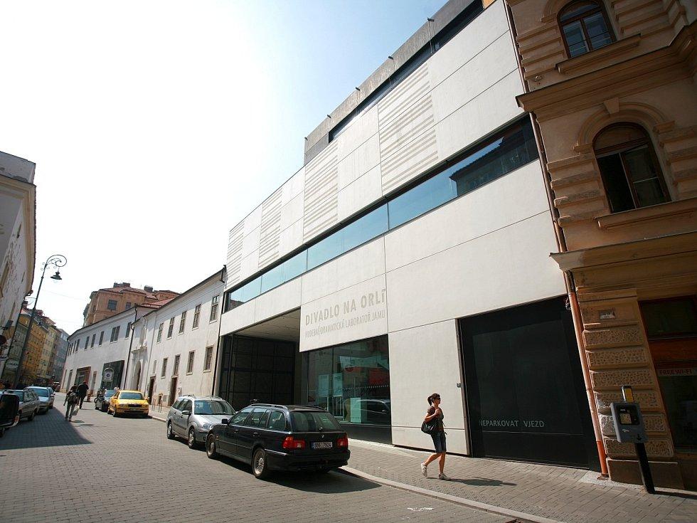 Divadlo v brněnské Orlí ulici.