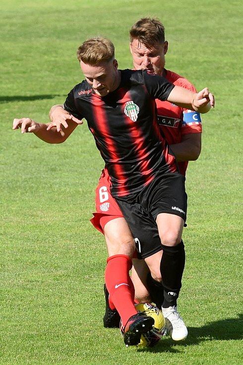 28.6.2020 - domácí FC Zbrojovka Brno v červeném proti FK Viktoria Žižkov
