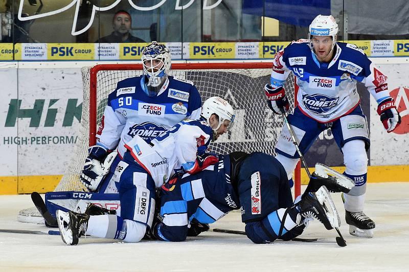 HC Kometa Brno v bílem proti Bílým Tygrům Liberec