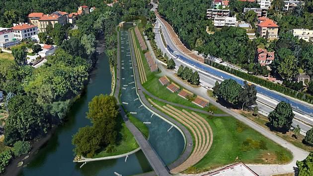 V brněnských Pisárkách vyroste nový areál s umělým vodáckým kanálem.