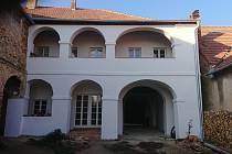 Dům v Pouzdřanech na Břeclavsku po opravě.