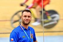Vedoucí sportovní redakce Deníku Rovnost Jaroslav Kára