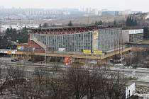 Plavecký stadion za Lužánkami.