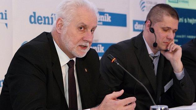Panelová diskuze Deníku Rovnost s jihomoravským hejtmanem